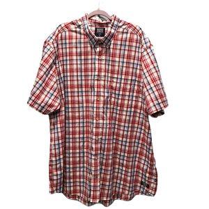 Nautica Men's Button Down Short Sleeve Shirt P267